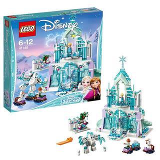 乐高(LEGO) 迪士尼公主系列艾莎的魔法冰雪城堡