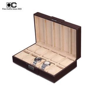 开合手表盒 便携式表盒 十表位CW-10113