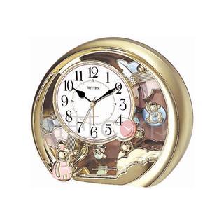 丽声 RHYTHM 创意装饰座钟静音钟摆锤台钟 20cm闹钟摆锤 4SE504WR18
