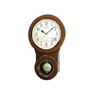 丽声 RHYTHM 敲钟报时石英钟欧式挂钟 50cm西敏寺敲钟 CMJ499FR06