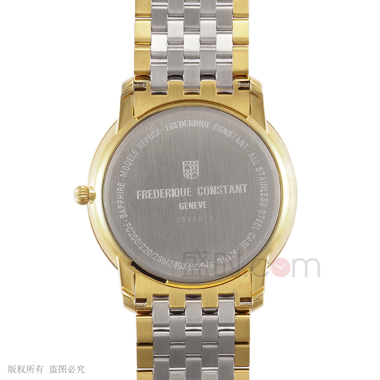 康斯登 Frederique Constant SLIMLINE 超薄系列 FC-245AS4S3B 石英 男款