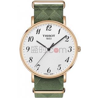 天梭 Tissot 时尚系列 T109.610.38.032.00 石英 男款