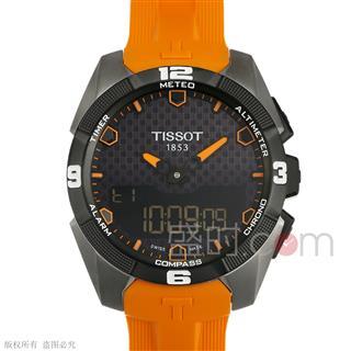 天梭 Tissot 高科技触屏系列 T091.420.47.051.01 石英 男款