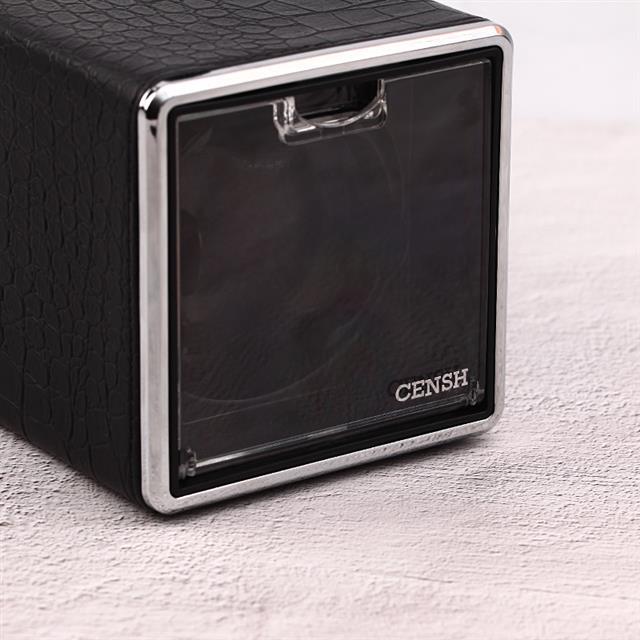 CENSH 单头摇表器 黑色鳄鱼皮纹1