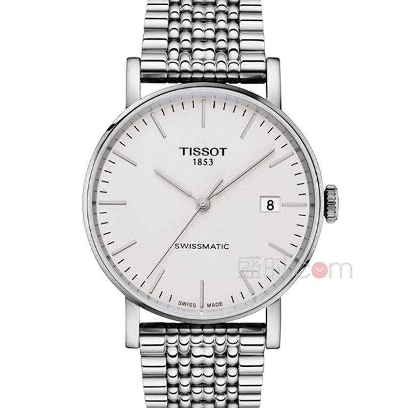 天梭 Tissot 经典系列-魅时系列  T109.407.11.031.00 机械 男款