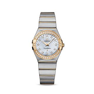 欧米茄 Omega CONSTELLATION 星座系列 123.25.27.60.55.004 石英 女款