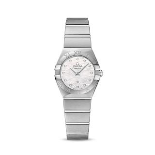 欧米茄 Omega CONSTELLATION 星座系列 123.10.24.60.55.003 石英 女款