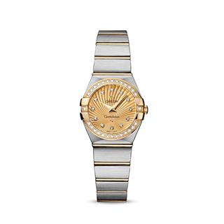 欧米茄 Omega CONSTELLATION 星座系列 123.25.24.60.58.001 石英 女款